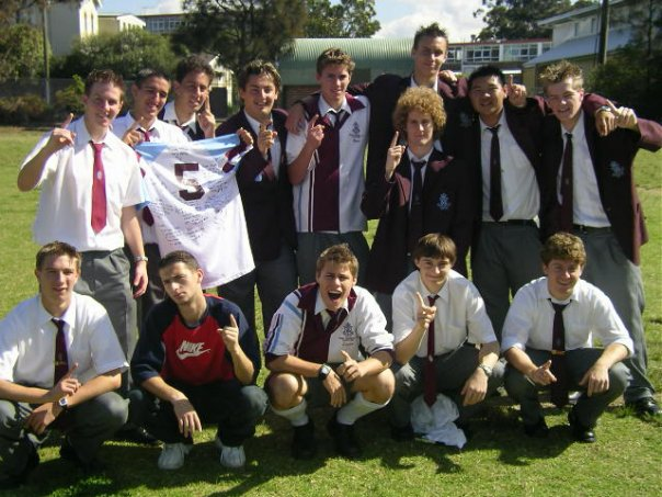 Sydney Technical High School team that only lost two games in six years.