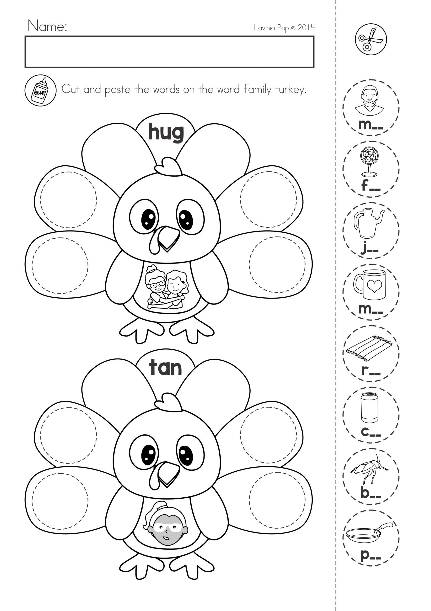 20 Cut And Paste Worksheets