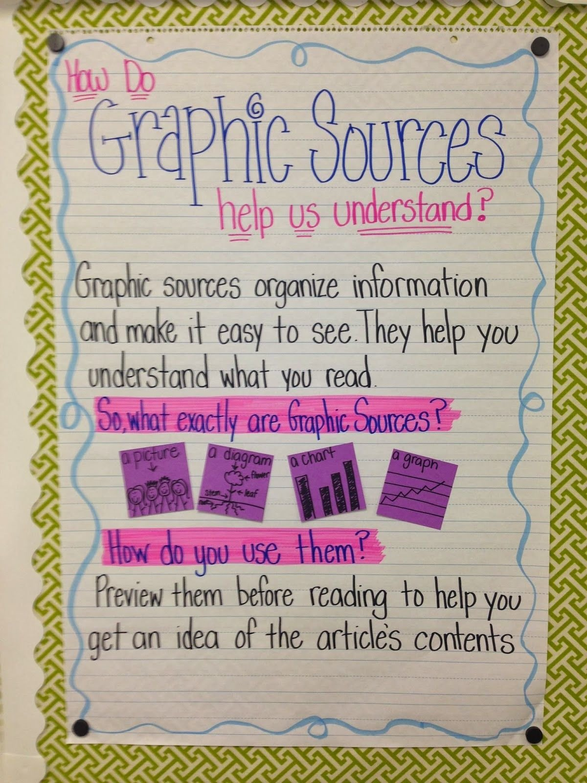 20 Graphic Sources Worksheets