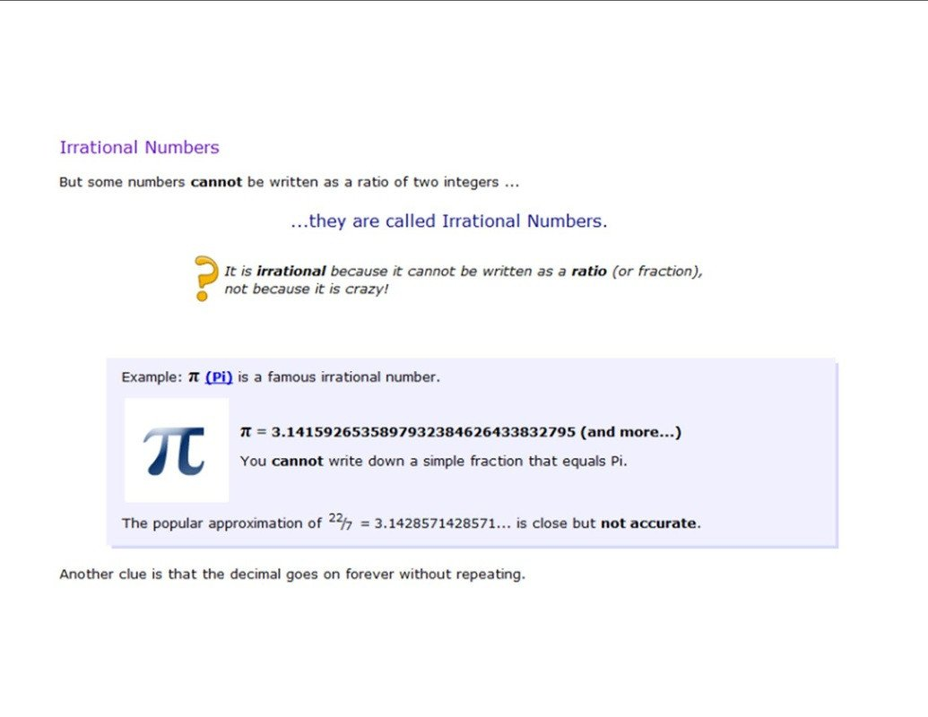 20 Approximating Irrational Numbers Worksheet
