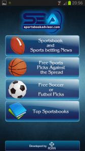 Sportsbook Advisor Anroid App