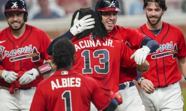 2021 Atlanta Braves World Series, win total, pennant and division odds
