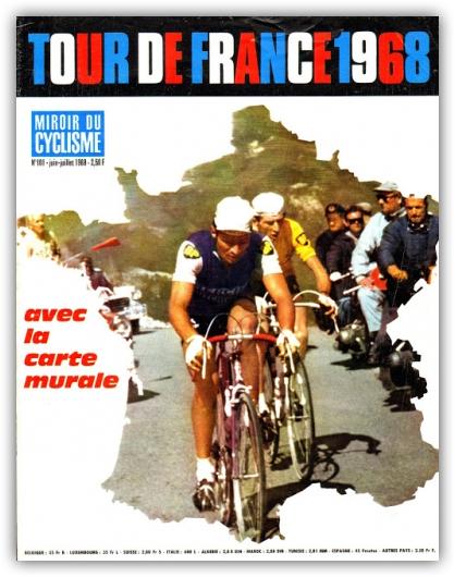1968 TdF Poster