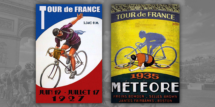 TdF-1927-&-1935-Posters