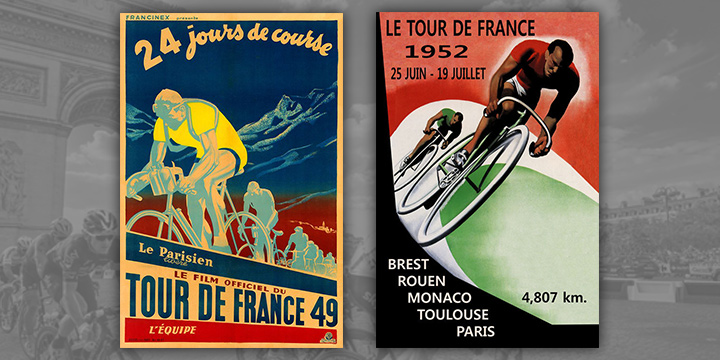 TdF-1949-&-1952-Posters