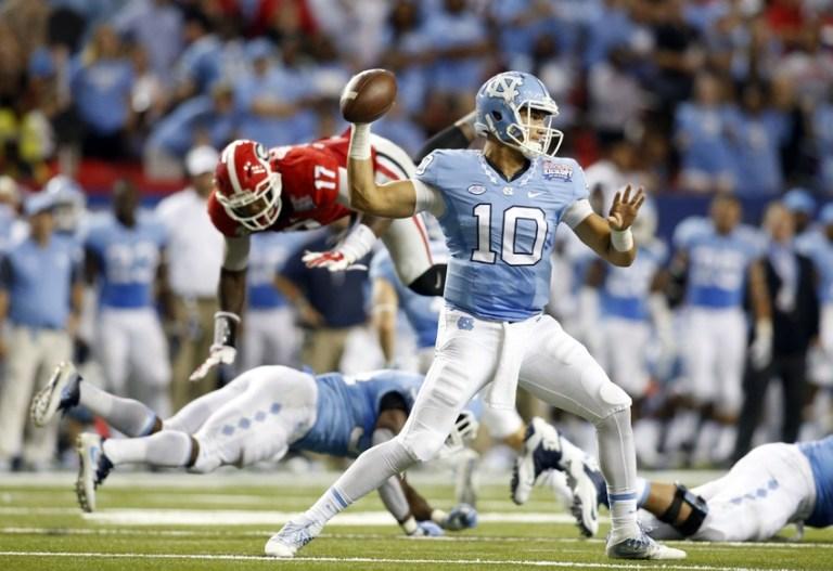 NCAA Football: North Carolina vs Georgia