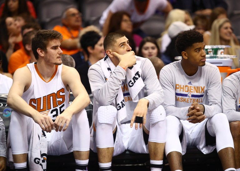 NBA: Denver Nuggets at Phoenix Suns