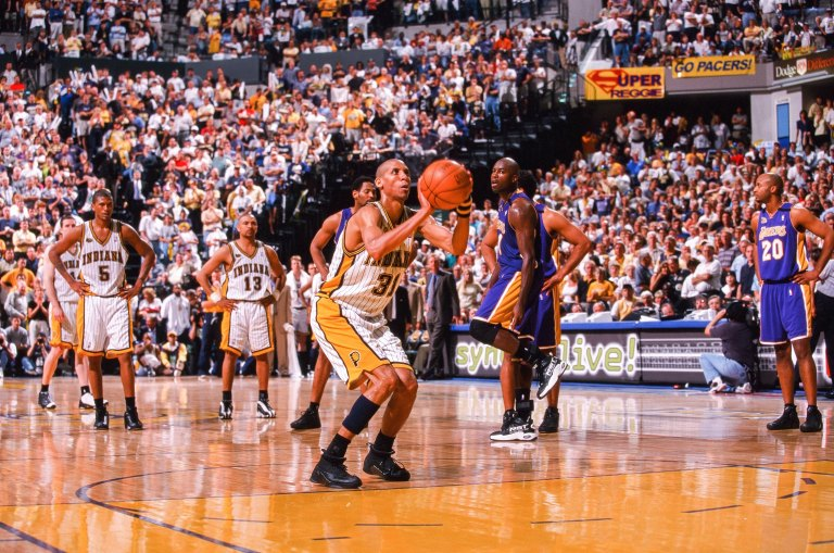 NBA Finals - Los Angeles Lakers v Indiana Pacers v  - Game Four