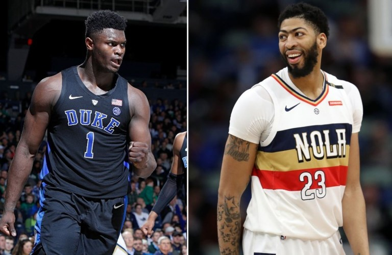 zion williamson:anthony davis