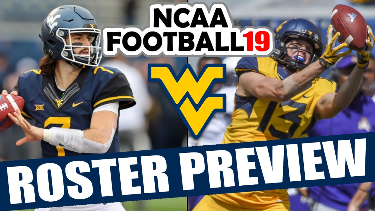 West Virginia 2018 Roster Preview Updated Rosters For Ncaa Football 14 Operation Sports Rosters