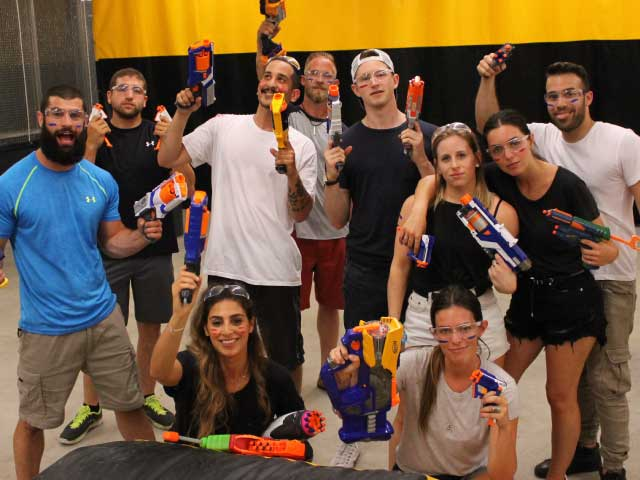 nerf battle guerre nerf montreal group
