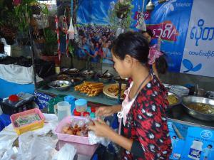 ミャンマーのチャイナタウン