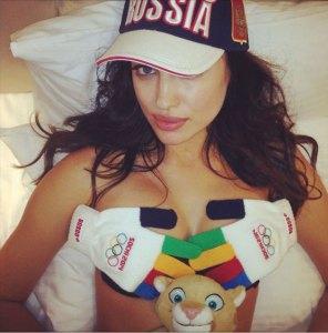 Irina entre las Reinas del Deporte