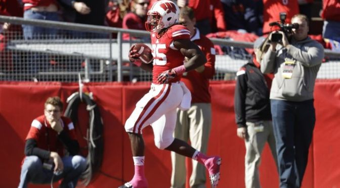 Wisconsin Badgers Hold Off Illinois Behind Gordon's 4 Touchdowns