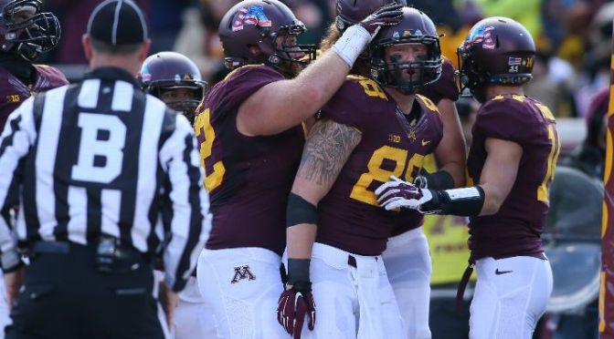 Minnesota Dominates Iowa 51-14