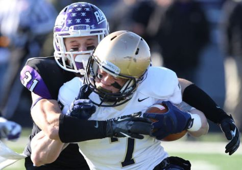 Two familiar foes in John Carroll and Mount Union square off in the Quarterfinals (John Kuntz / The Plain Dealer)