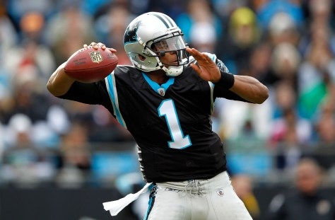 Cam Newton and the Carolina Panthers are a point of contention in the NFL Playoffs (Streeter Lecka/Getty Imgaes)