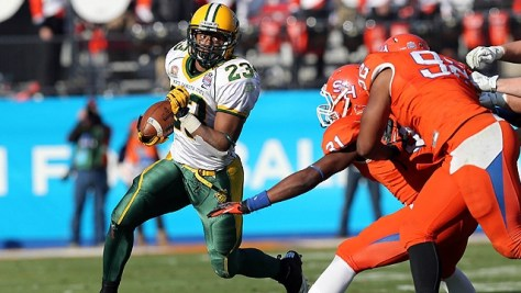 John Crockett will be instrumental in the Bison's offensive attack (Tim Heitman / USA TODAY Sports Images)