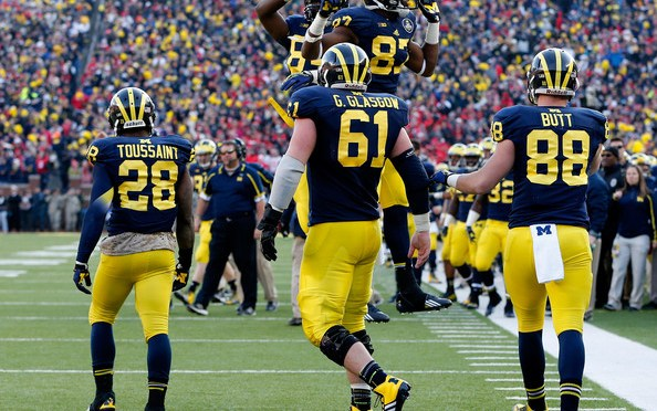 Michigan OL Graham Glasgow In Trouble Again, Suspended