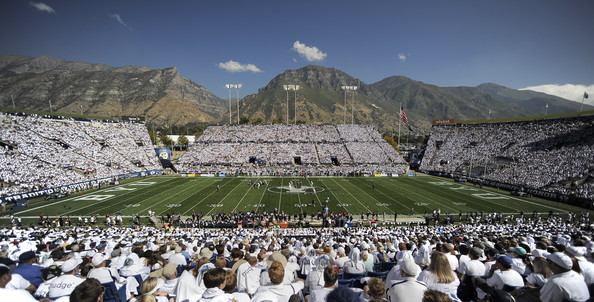 BYU will be playing a home game against Mississippi State in 2016 (Gene Sweeney Jr./Getty Images North America)