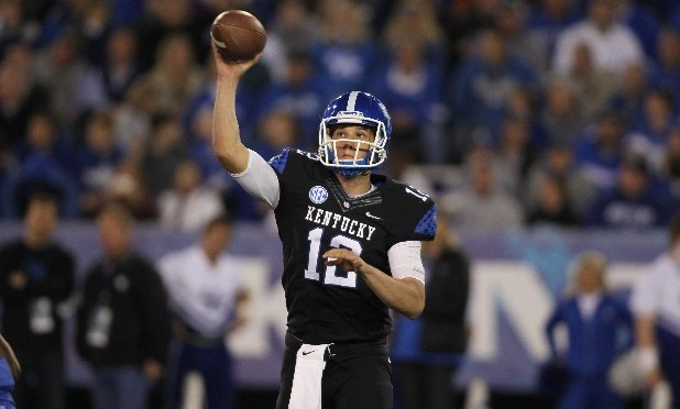 Kentucky QB Reese Phillips Out With Injury