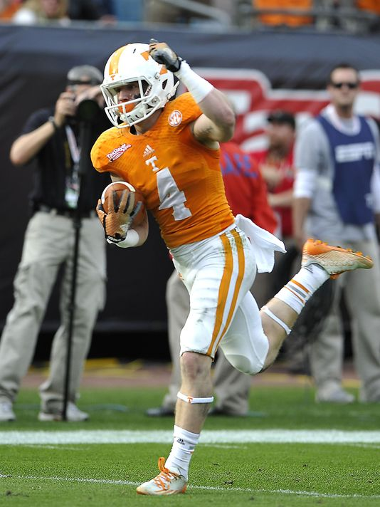 Vic Wharton is transferring from Tennessee to California (Larry McCormack / THE TENNESSEAN)