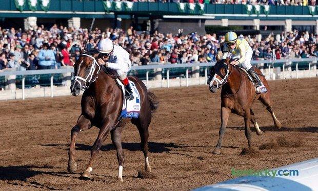 Carpe Diem Easily Wins Blue Grass Stakes
