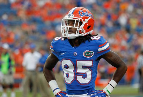 Florida wide receiver Chris Thompson before a game against Kentucky in 2014 (Kim Klement/USA TODAY Sports)