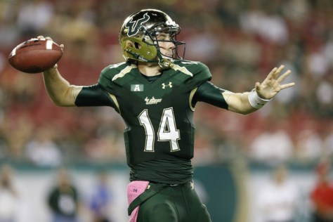 Quarterback Mike White will transfer to Western Kentucky (Joe Robbins/Getty Images North America)