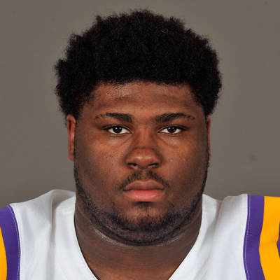 Travonte Valentine has yet to play a down for LSU due to multiple issues (Steve Franz / LSUSports.net)