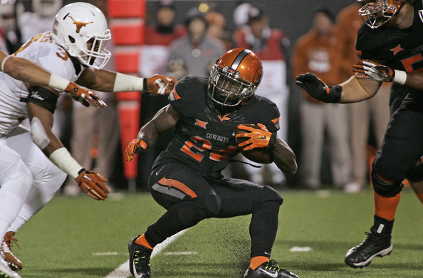 Tyreek Hill against the Texas Longhorns in 2014 (Brett Deering/Getty Images North America)