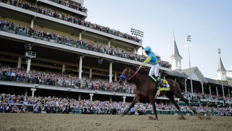 American Pharoah beat Firing Line by a length in the 2015 Kentucky Derby. What lies ahead for the 2 year old champion? (David J. Phillip / AP Photo)