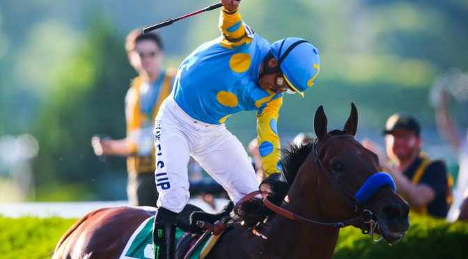 American Pharoah Runs Into Racing Immortality
