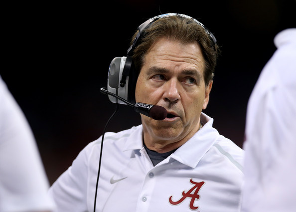 Nick Saban has brought Alabama back to prominence and the Tide are always a Championship Contender with him at the helm. (Chris Graythen/Getty Images North America)