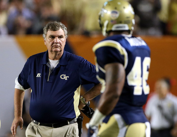Paul Johnson has led Georgia Tech to the ACC Championship Game two of the last three years. Can he make it three of four? (Marc Serota/Getty Images North America)