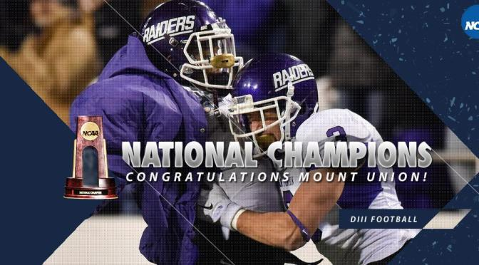 Mount Union Overcomes Slow Start To Win 2015 Stagg Bowl