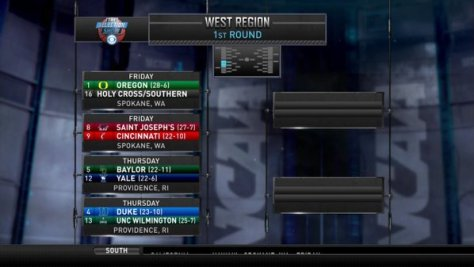 2016 Tourney West Region Part 1