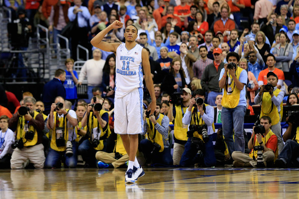 Brice Johnson will lead the North Carolina Tar Heels in the 2016 NCAA Tournament. (Rob Carr/Getty Images North America)