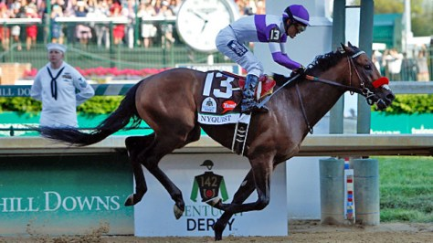 Mario Gutierrez rode Nyquist to the victory in the 142nd Kentucky Derby (Dylan Buell/Getty Images)