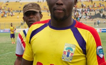 Gibert Fiamenyo leaves Cape Coast Ebusua Dwarfs