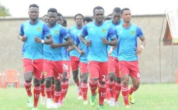Kotoko training session reinforced for Dreams FC duel