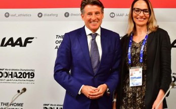 Coe re-elected as IAAF President, Restrepo elected first ever female vice President