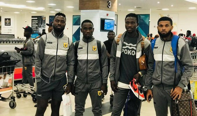 Ashantigold arrives in Ghana after Confederation Cup exit