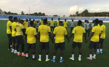 Black Stars determined vow to beat South Africa in Cape Coast