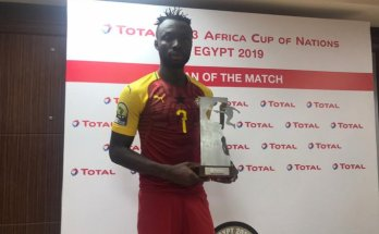 Kwabena Owusu voted Man of the Match as Ghana beat Mali