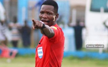 Referee Daniel Laryea, five others handed roles in continental matches