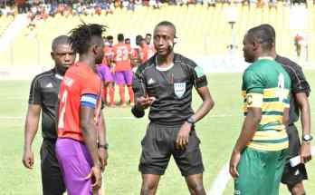 GFA announce Match Officials for GPL Matchweek 5