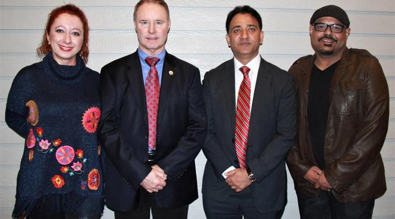 Bruce R. Bethers, President, USA Ju-Jitsu Federation, Shammi Rana