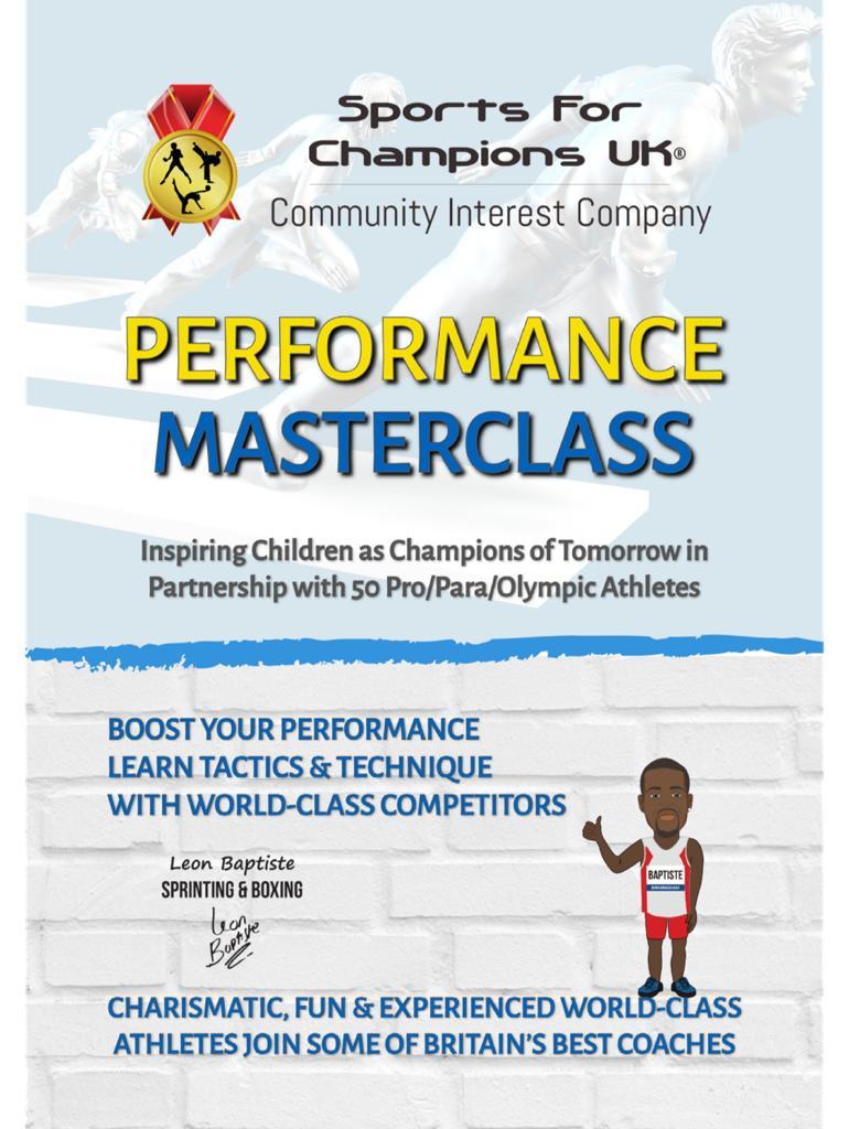 Performance Masterclass