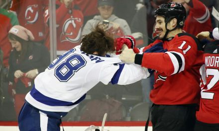 Devils' Player Threatened to Kill Lighting Player on the Ice